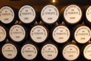 Penderyn barrels landscape