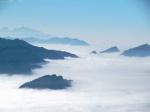 (Berg)Inseln im (Wolken)Meer