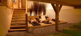 Entspanung pur im Ruhebereich des Hotel Oberstdorf
