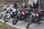 Moto Guzzis im Hotel Oberstdorf