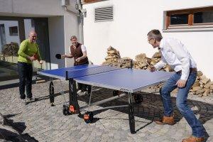 Tischtennis am Hotel Oberstdorf