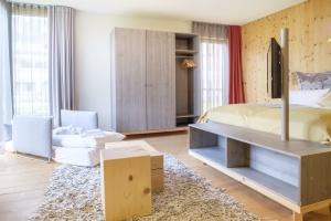 Einraum-Appartement mit Schlafcouch