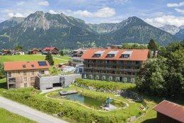 Hotel Oberstdorf im Sommer
