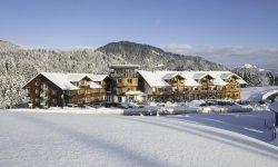Winterkleid des Hotel Oberstdorfs