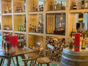 Whisky-Sammlung im Hotel Oberstdorf