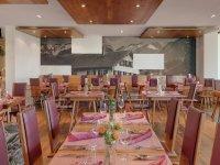 Der edle Bereich im Alpen Restaurant