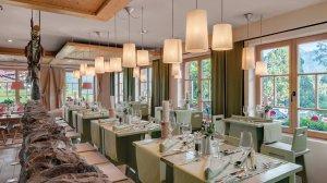 Moderner Bereich im Alpen Restaurant