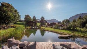 Natur-Badesee am Hotel Oberstdorf