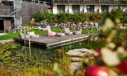 Natur-Badesee im Hotel Oberstdorf