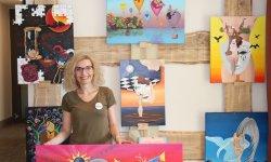 Vicky und ihre Gemälde