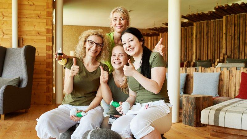 Wir suchen eine Wellnessfee (m/w/d) im 4-Sterne Feelgood-Hotel Oberstdorf im Allgäu