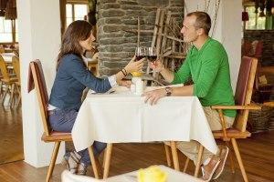 Ihr romantisches Plätzchen im Restaurant...