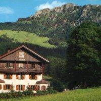 Hotel Pfeiffermühle: rustikaler Gasthof im Tiroler Stil