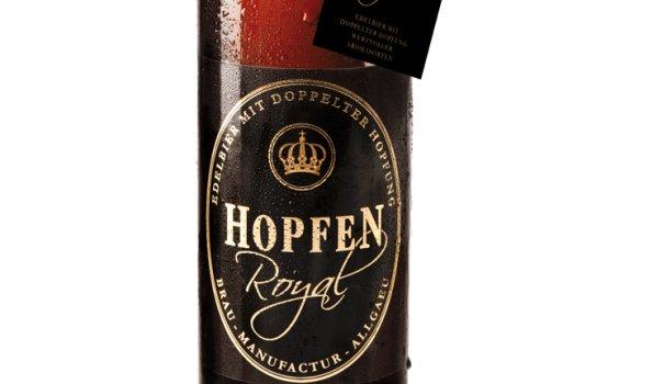 Hopfel Royal - unser erstes Edel-Bier.