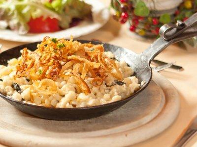 Haben Sie schon unsere original Allgäuer Kässpatzen probiert?