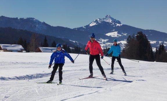 Langlaufen in Nesselwang - ein ganz besonderes Wintererlebnis!