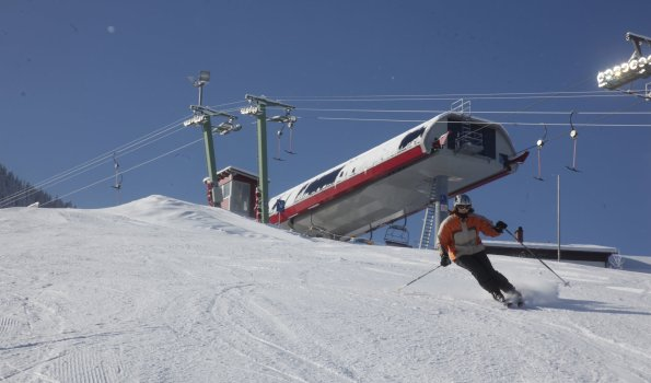 Skispaß in den Bergen!