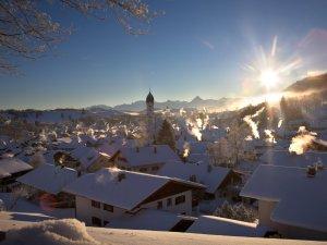Und die Berge am Horizont - ein Traum!