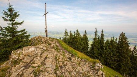 Am Gipfelkreuz angekommen!
