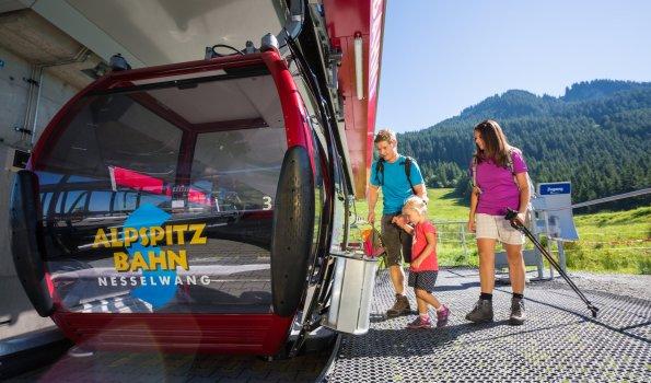 Bereit für die Fahrt mit der Alpspitzbahn?