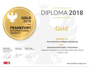 Grand Gold Neuschwanstein Export