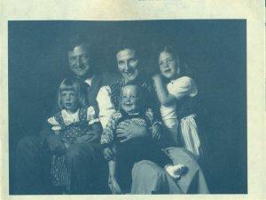 Karl und Monica Meyer mit Kindern