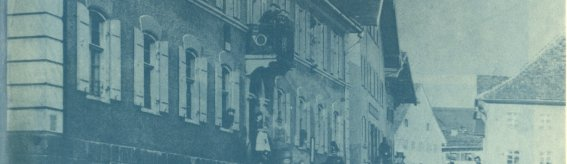Brauerei-Gasthof um 1900