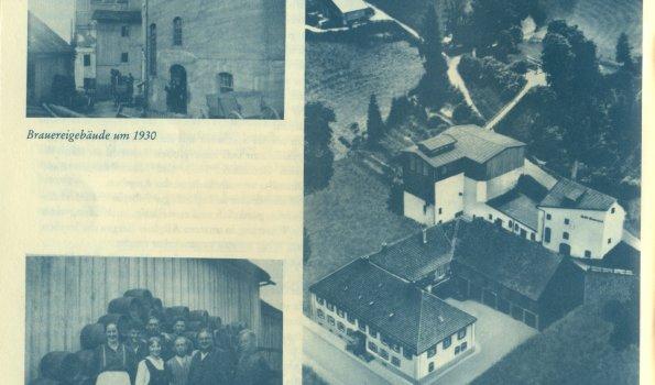 Brauereigebäude 1955