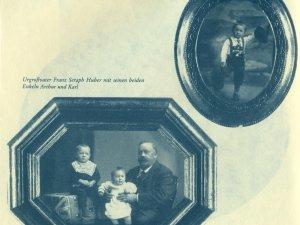 Seraph Huber mit Urenkeln