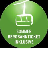 Bergbahnen inklusive Logo