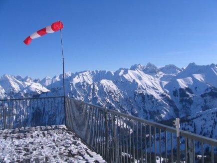 Fellhorn mit grandiosem Panoramablick