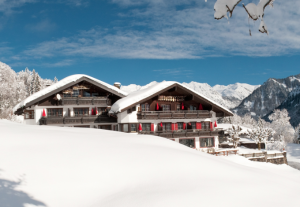 Hotel-Alpengasthof Schwand im Winter