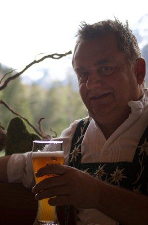 Franz Kögel - unser Gastwirt und Hausherr
