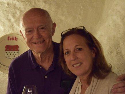 Edson de Castro mit Ehefrau im Hotel Tannhof