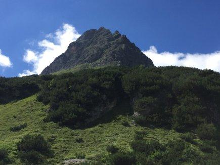 Imposanter Berg der Widderstein!