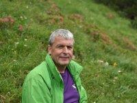 Gastgeber Stefan Helm beim Wandern