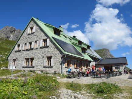 Die Mindelheimer Hütte