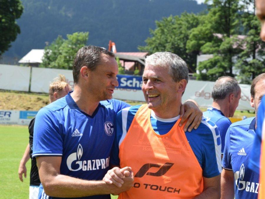 Gratulanten Martin Max und Stefan Helm