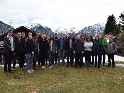 Workshop vor traumhafter Bergkulisse