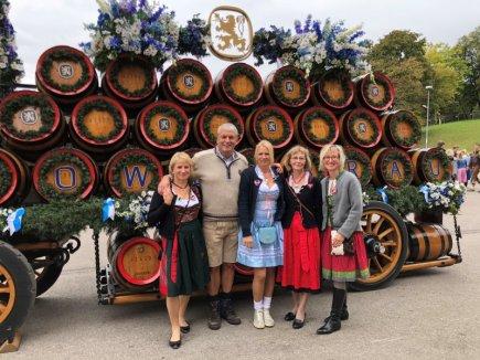 Das Tannhof-Team auf dem Münchner Oktoberfest