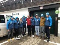 Das französische Langlauf-Nationalteam