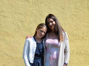 Firmpatin Ulli mit Carlotta