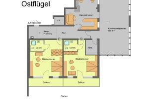 Flügel 1 / Erdgeschoss