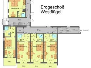 Flügel 2 / Erdgeschoss