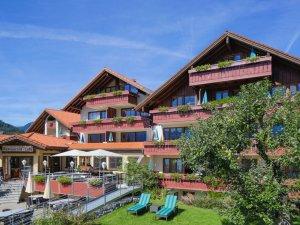 Hotel Viktoria Oberstdorf im Sommer