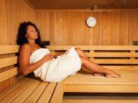Sauna im 4 Sterne Wellnesshotel