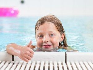 30 Grad Schwimmbad für die Kids