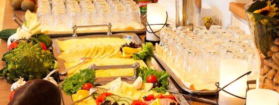 Frühstück Wurstplatten