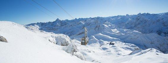 Winterzauber am Nebelhorn Gipfel