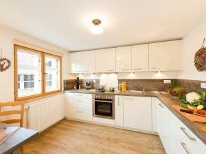 Ferienhaus mit großer und voll ausgestatteter Küche